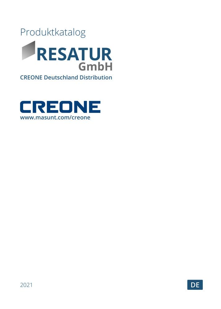 CREONE Produktatalog